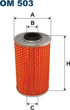 Filtron OM503 - Hidrofiltrs, Stūres iekārta autodraugiem.lv