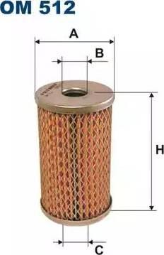 Filtron OM512 - Filtrs, Hidropacēlāja sistēma autodraugiem.lv