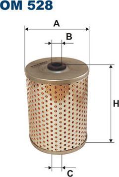 Filtron OM528 - Filtrs, Hidropacēlāja sistēma autodraugiem.lv