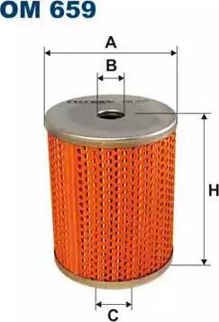 Filtron OM659 - Hidrofiltrs, Automātiskā pārnesumkārba autodraugiem.lv