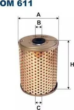 Filtron OM611 - Filtrs, Hidropacēlāja sistēma autodraugiem.lv