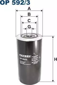 Filtron OP592/3 - Hidrofiltrs, Stūres iekārta autodraugiem.lv
