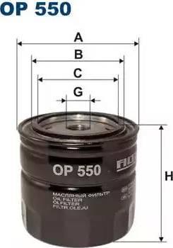 Filtron OP550 - Filtrs, Hidropacēlāja sistēma autodraugiem.lv