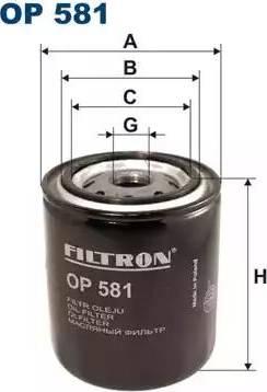 Filtron OP581 - Filtrs, Hidropacēlāja sistēma autodraugiem.lv