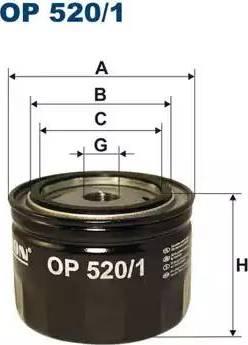 Filtron OP520/1 - Hidrofiltrs, Automātiskā pārnesumkārba autodraugiem.lv