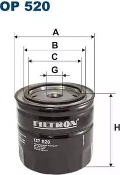 Filtron OP520 - Filtrs, Hidropacēlāja sistēma autodraugiem.lv