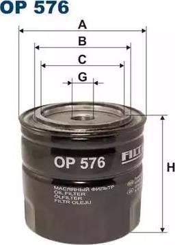 Filtron OP576 - Filtrs, Hidropacēlāja sistēma autodraugiem.lv