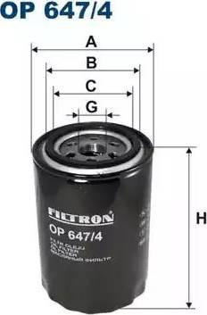 Filtron OP647/4 - Filtrs, Hidropacēlāja sistēma autodraugiem.lv