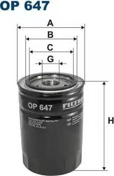 Filtron OP647 - Filtrs, Hidropacēlāja sistēma autodraugiem.lv