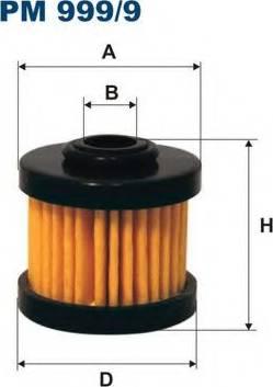 Filtron PM 999/9 - Degvielas filtrs autodraugiem.lv