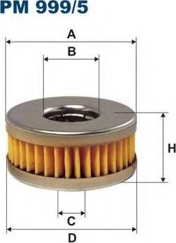 Filtron PM999/5 - Degvielas filtrs autodraugiem.lv
