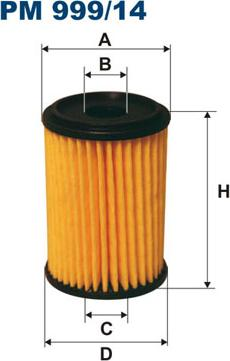 Filtron PM999/14 - Degvielas filtrs autodraugiem.lv