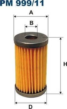 Filtron PM999/11 - Degvielas filtrs autodraugiem.lv