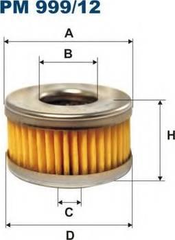 Filtron PM999/12 - Degvielas filtrs autodraugiem.lv