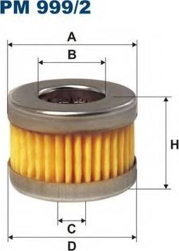 Filtron PM999/2 - Degvielas filtrs autodraugiem.lv