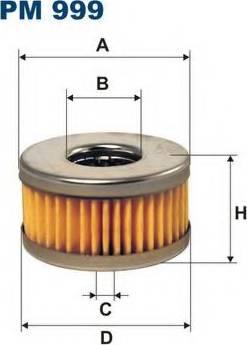Filtron PM999 - Degvielas filtrs autodraugiem.lv