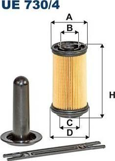 Filtron UE730/4 - Karbamīda filtrs autodraugiem.lv