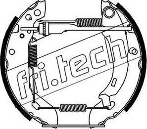 Fri.Tech. 16045 - Bremžu komplekts, trumuļa bremzes autodraugiem.lv