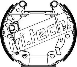 Fri.Tech. 16042 - Bremžu komplekts, trumuļa bremzes autodraugiem.lv