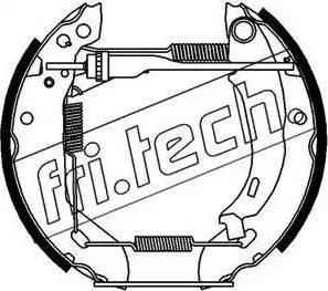 Fri.Tech. 16055 - Bremžu komplekts, trumuļa bremzes autodraugiem.lv