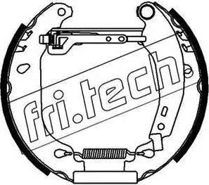 Fri.Tech. 16021 - Bremžu komplekts, trumuļa bremzes autodraugiem.lv