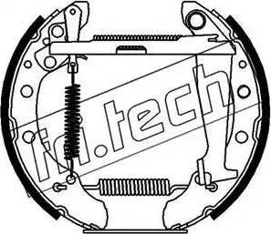 Fri.Tech. 16072 - Bremžu komplekts, trumuļa bremzes autodraugiem.lv