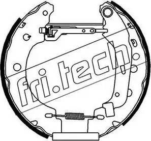 Fri.Tech. 16156 - Bremžu komplekts, trumuļa bremzes autodraugiem.lv