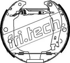 Fri.Tech. 16151 - Bremžu komplekts, trumuļa bremzes autodraugiem.lv
