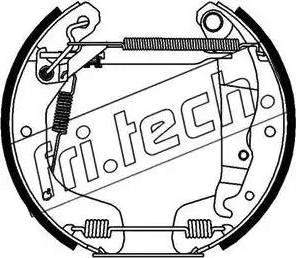 Fri.Tech. 16112 - Bremžu komplekts, trumuļa bremzes autodraugiem.lv