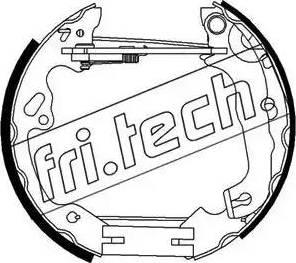 Fri.Tech. 16296 - Bremžu komplekts, trumuļa bremzes autodraugiem.lv