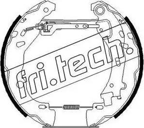 Fri.Tech. 16258 - Bremžu komplekts, trumuļa bremzes autodraugiem.lv