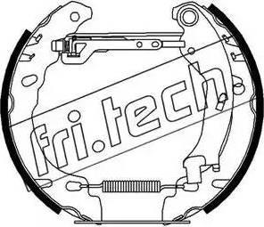 Fri.Tech. 16278 - Bremžu komplekts, trumuļa bremzes autodraugiem.lv