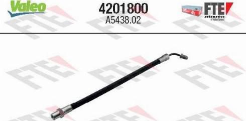 FTE 4201800 - Sajūga šļūtene autodraugiem.lv