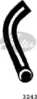 Gates 3243 - Radiatora cauruļvads autodraugiem.lv