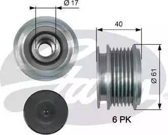 Gates OAP7013 - Ģeneratora brīvgaitas mehānisms autodraugiem.lv