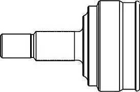 GSP 827003 - Šarnīru komplekts, Piedziņas vārpsta autodraugiem.lv