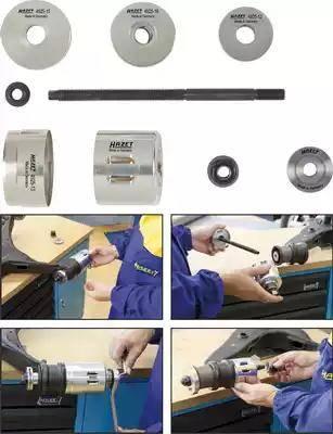 HAZET 4925-2505/9 - Montāžas instrumentu komplekts, Sailentbloks autodraugiem.lv