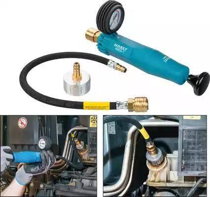 HAZET 4800-3 - Adapteris, Dzesēšanas sist. spiediena pārbaudes komplekts autodraugiem.lv