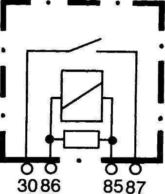 HELLA 4RA 933 766-111 - Multifunkcionāls relejs autodraugiem.lv