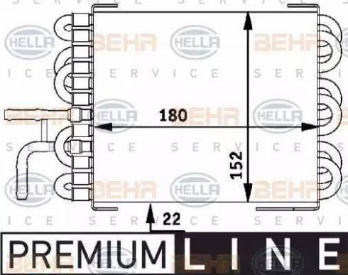 HELLA 8MK376717401 - Degvielas radiators autodraugiem.lv