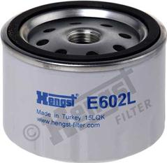 Hengst Filter E602L - Gaisa filtrs, Kompresors-Ieplūstošais gaiss autodraugiem.lv
