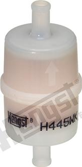 Hengst Filter H445WK - Gaisa filtrs, Kompresors-Ieplūstošais gaiss autodraugiem.lv