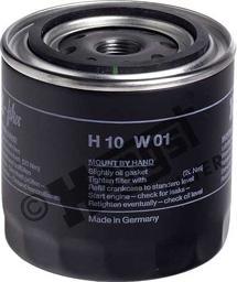 Hengst Filter H10W01 - Gaisa filtrs, Kompresors-Ieplūstošais gaiss autodraugiem.lv