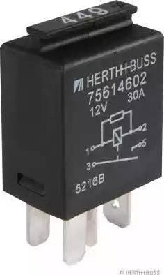 Herth+Buss Elparts 75614602 - Multifunkcionāls relejs autodraugiem.lv