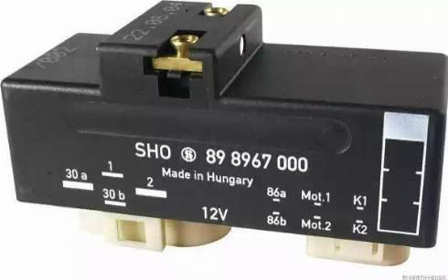 Herth+Buss Elparts 75898967 - Relejs, Radiatora ventilatora sistēma autodraugiem.lv