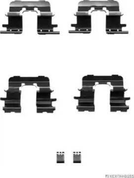 Herth+Buss Jakoparts J3662025 - Piederumu komplekts, Disku bremžu uzlikas autodraugiem.lv