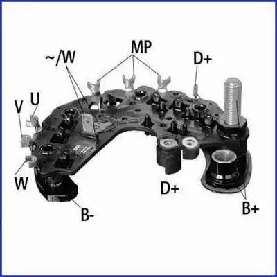 Hitachi 139696 - Taisngriezis, Ģenerators autodraugiem.lv