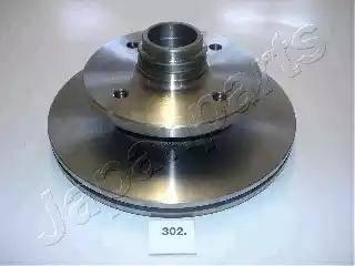 Japanparts DI-302 - Bremžu diski autodraugiem.lv