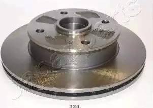 Japanparts DI-324 - Bremžu diski autodraugiem.lv