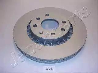 Japanparts DI-W05 - Bremžu diski autodraugiem.lv